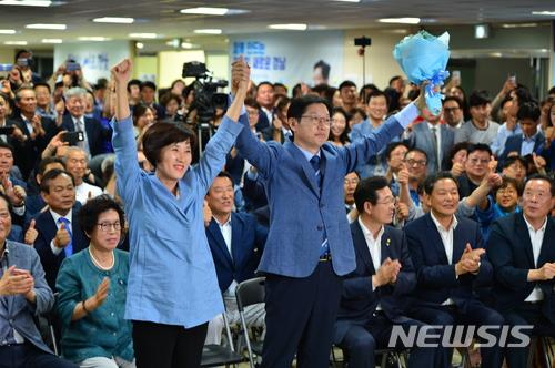 한국당 창원시장 공천 실패가 결국 김태호 발목 잡았나?