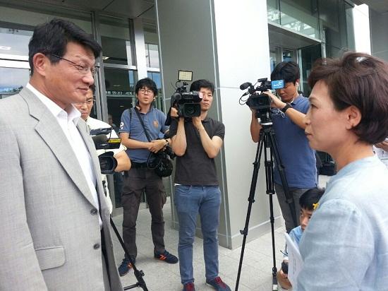 """""""X새끼야"""" 욕설 최기화 MBC 본부장, 사과 요구에 """"그만해요"""""""