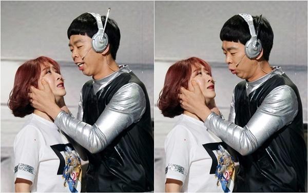 `개콘-봇말려` 안소미·박진호 격정적 눈맞춤