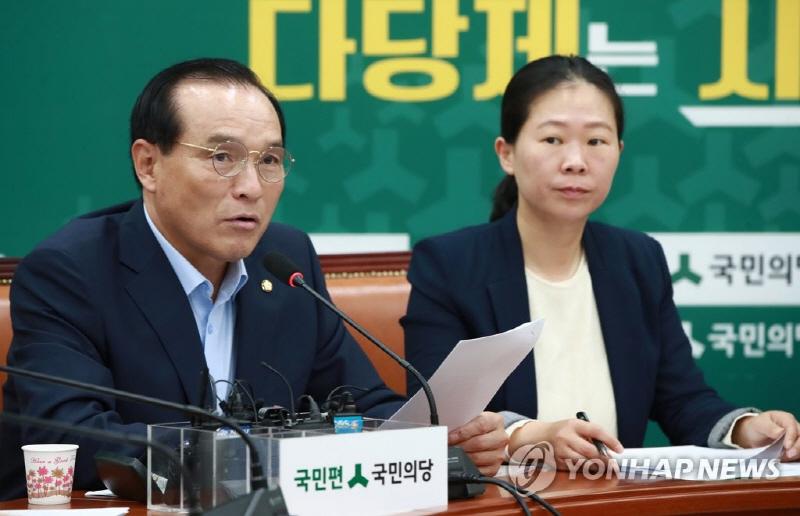 """김중로 """"강경화 장관 하얀 머리 비하 의도 없어"""""""