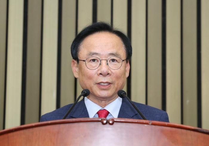 당 선거 줄줄이 낙선에 단번에 국회부의장 된 이주영 의원