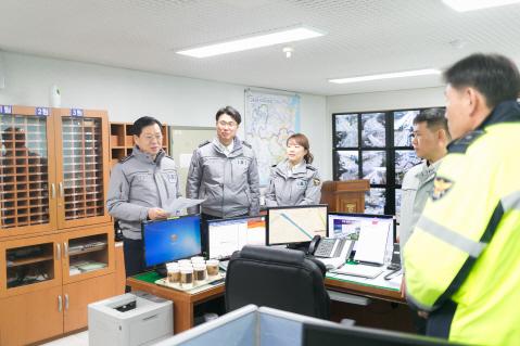 """조현배 부산경찰청장 """"설 명절 안전한 귀성·귀갓길을 만들겠습니다"""""""