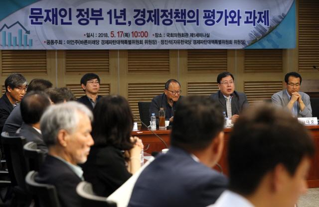 한국·바른미래 야권 공조로 추경 연합공세