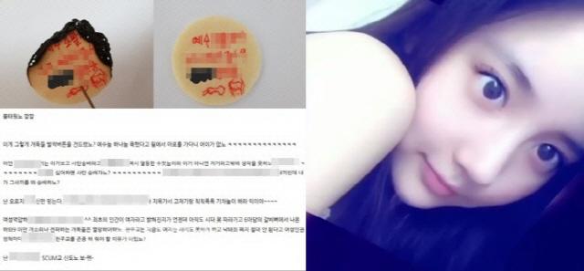한서희, 워마드 성체훼손 옹호···정작 워마드 반응은? 무관심 유지
