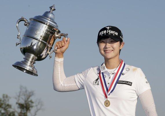 박성현이 드디어… LPGA 첫 승이 US오픈 우승