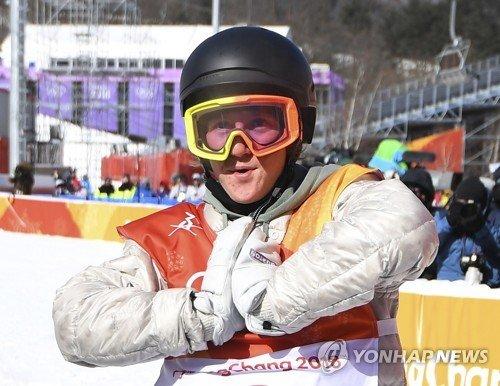 2018평창 미국 첫 금메달 스노보드 남자 슬로프스타일에서
