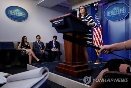 """백악관 """"북한 발표내용 살펴볼 것"""" 즉각 대응 자제"""