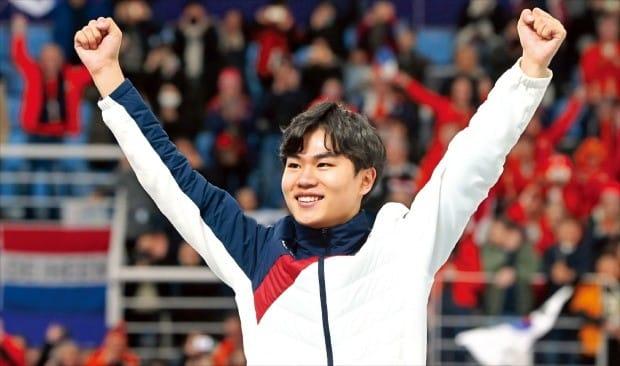 1999년생 `빙속 괴물`의 대질주… 김민석, 깜짝 동메달