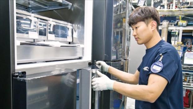 삼성전자, 프리미엄 냉장고 판매 5배 증가