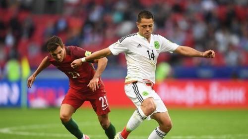 [포르투갈-멕시코] '호날두' 포르투갈 vs '치차리토' 멕시코 2-2 무승부