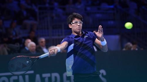 [테니스] 정현, 시즌 첫 경기서 세계 25위 제압...브리즈번 대회 2회전