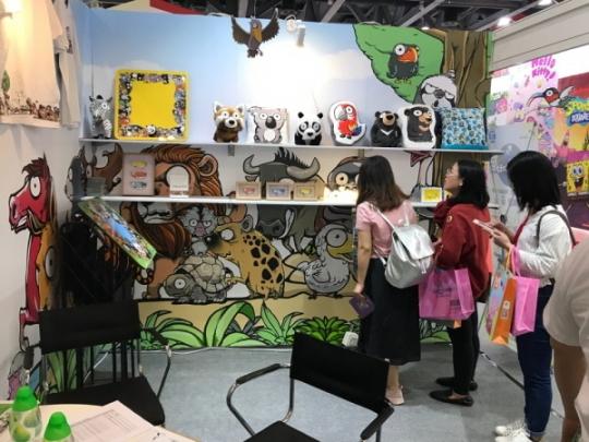 애니 '지구와 사람과 동물' 캐릭터 라이선싱 페어 2018 참가