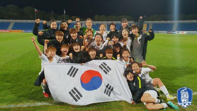 한국 여자축구, 가시밭길 뚫고 사상 첫 2회 연속 WC 진출