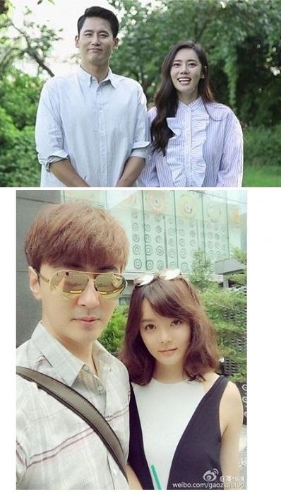 강한나-왕대륙도 2세 연상연하…中 남자 배우들, '韓 누나'에 홀딱