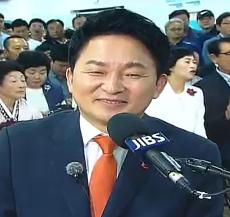 """원희룡 """"보수·진보가 중요한 게 아냐…민주당 입당 No!"""""""