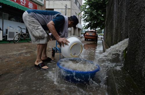 [밀착취재] 290㎜ 물난리…기록적인 폭우에 망연자실
