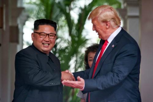 트럼프 김정은 '폭풍칭찬' 이유는