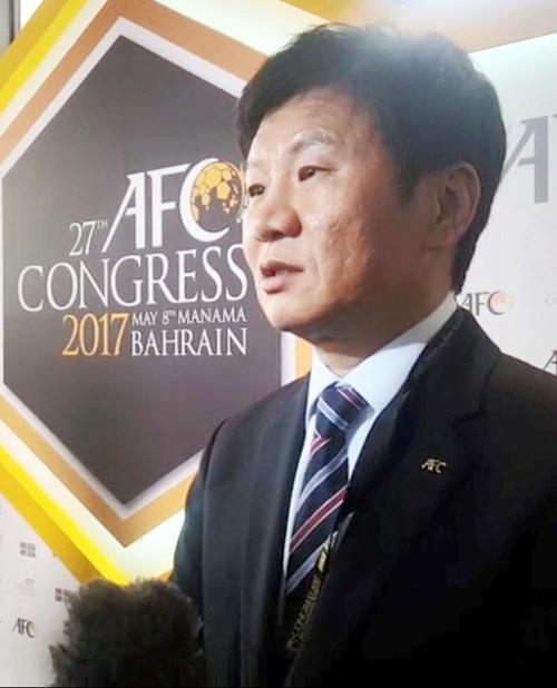 """정몽규 축구협회장 """"北·中·日에 2030년 월드컵 공동 개최 제안했다 유치 가능성 있어"""""""