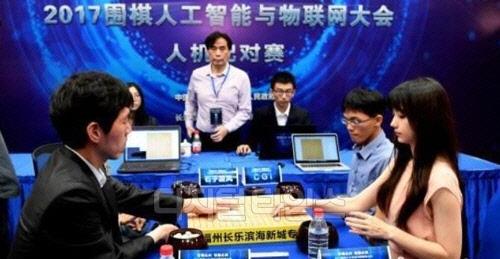 대만 AI-미녀기사 팀, 韓 AI-이창호 9단 팀 꺾어
