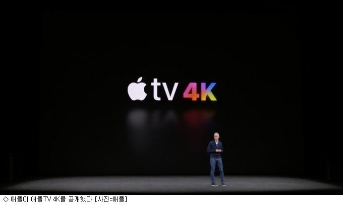 '애플TV'의 진화 '4K·HDR' 지원