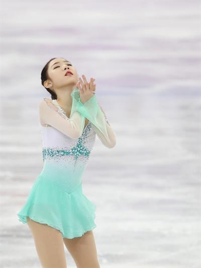 최다빈 피겨 단체전 여자 쇼트서 개인 최고기록 경신