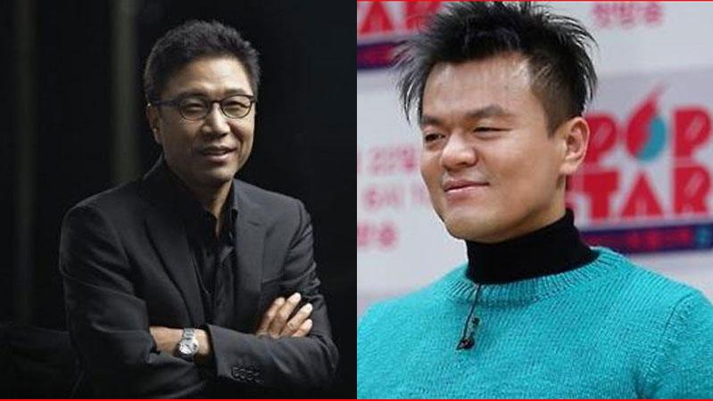 이수만·박진영, 주식 재산 증가에 '함박웃음'
