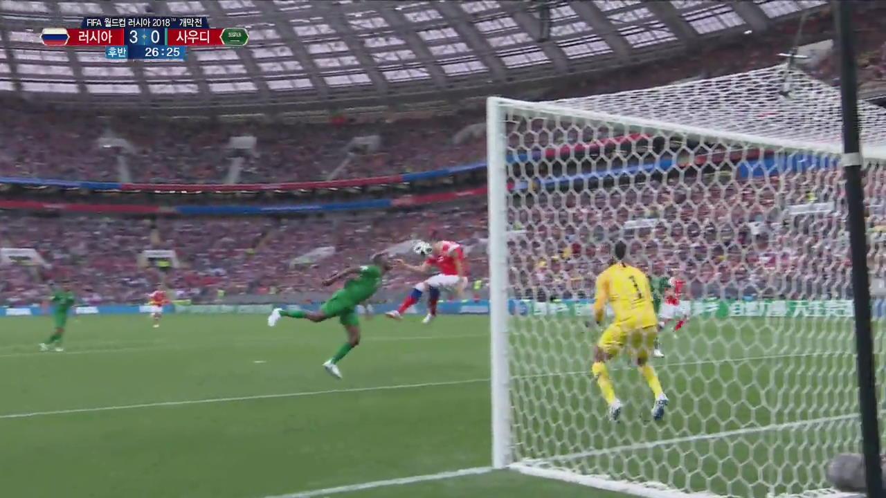 [월드컵 영상] 주바, 사우디 좌절시키는 3번째 골!