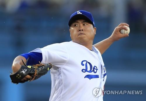 2승 앞둔 류현진, 6이닝 2실점 시즌 최다 9K, 방어율은 2.87