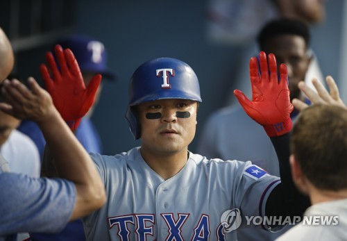 추신수, 다저스전서 시즌 12호·통산180호 홈런…팀은 대패