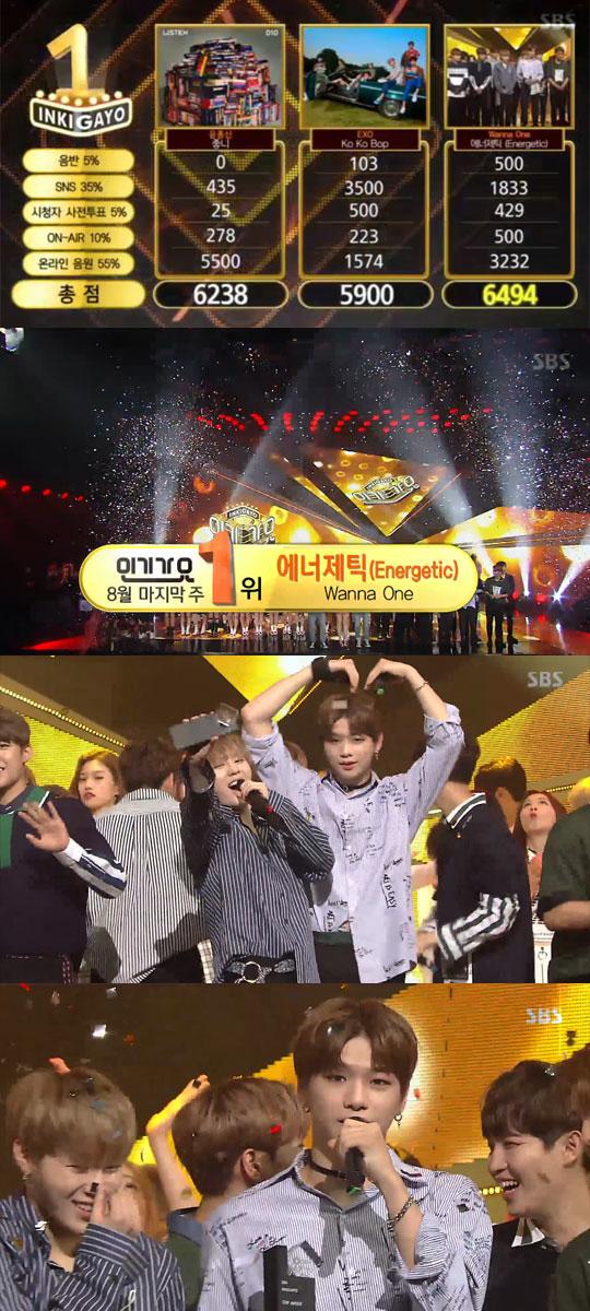 '인기가요' 워너원, 11관왕 달성…선미 컴백·태양 굿바이 [종합]