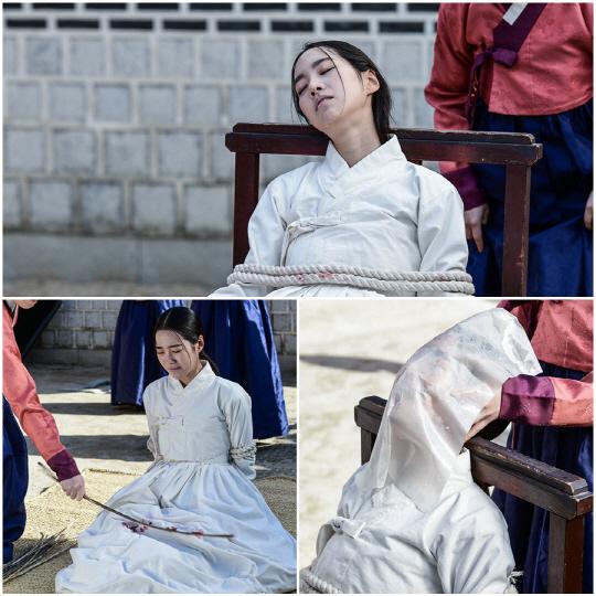 """""""잔혹 고문 3종 세트""""…'대군' 진세연, 실제 같은 고통 열연"""