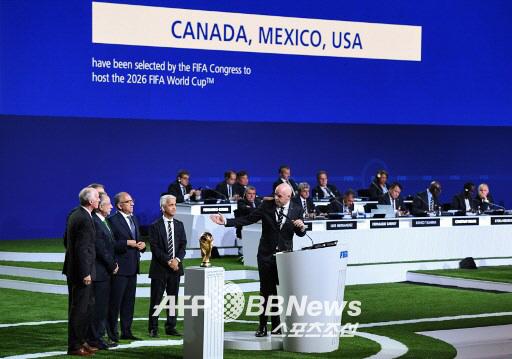 2026년 월드컵 미국-멕시코-캐나다 북중미 3국 공동개최