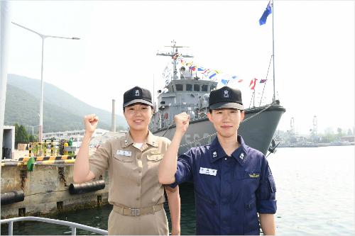 해군 최초 女 함장·편대장 탄생