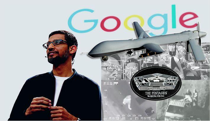 구글 직원들 군사 프로젝트에 항거하며 사표 던져