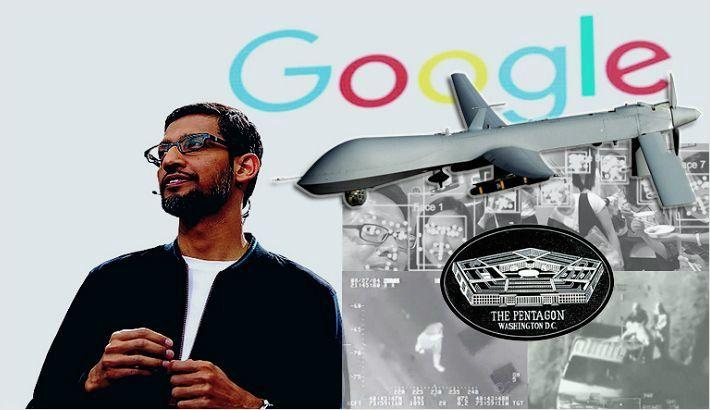 """구글, AI 원칙 발표 """"인명 피해 AI 무기 포기"""""""