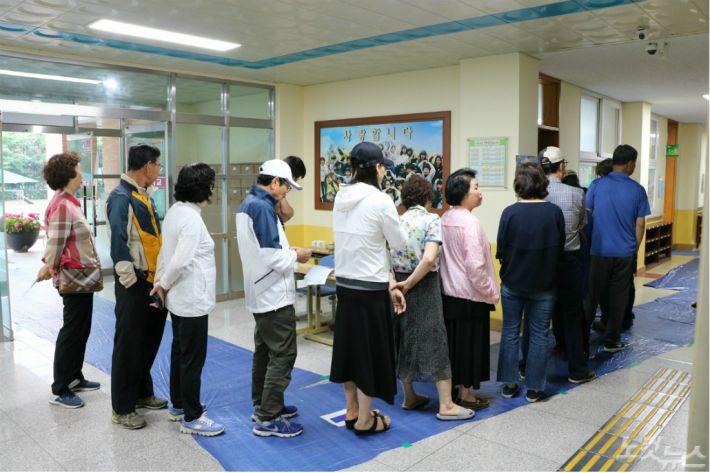 6.13 지방선거 시작…충북 오전 7시 투표율 2.5