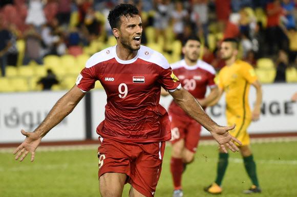 알 소마 또 극적인 동점 골, 시리아 월드컵 진출 희망의 불씨