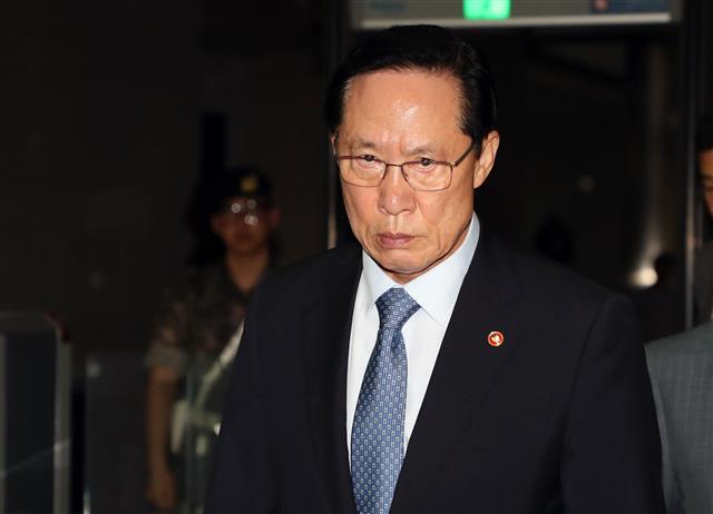"""송영무·브룩스 긴급회동… """"B52 보내지 마라"""""""