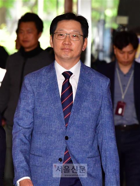 '김경수 의혹' 확인조차 거부한 경찰