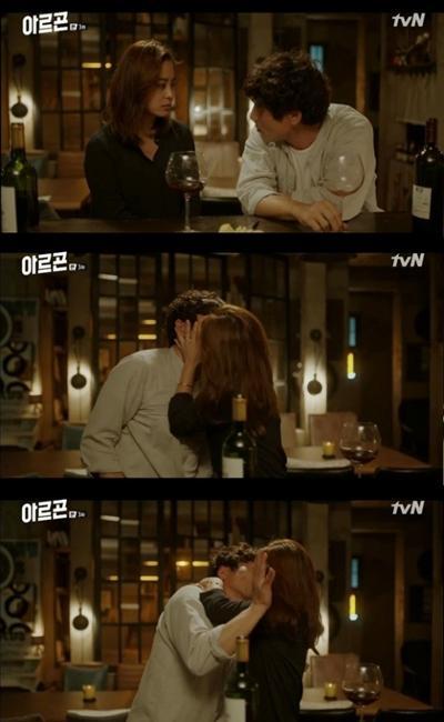 `아르곤` 박희본, 박원상에 기습 키스… ¨그런대로 쓸만하네¨