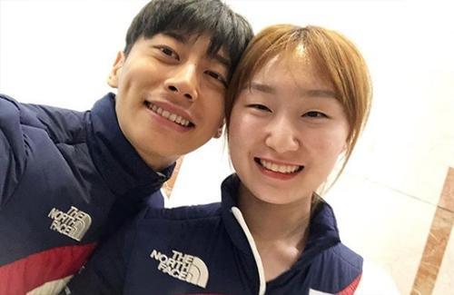 [평창인★] 곽윤기, 최민정과 다정한 투샷 ¨웃을 줄 아네?¨