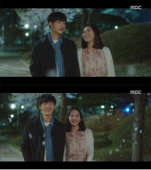 '위대한 유혹자' 우도환♥조이, 손 꼭 잡고 달달한 벚꽃 데이트