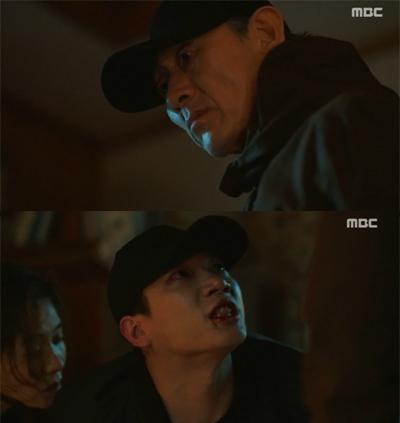 '이리와 안아줘' 김경남, 서정연 살해하려는 허준호에 무릎꿇고 애원