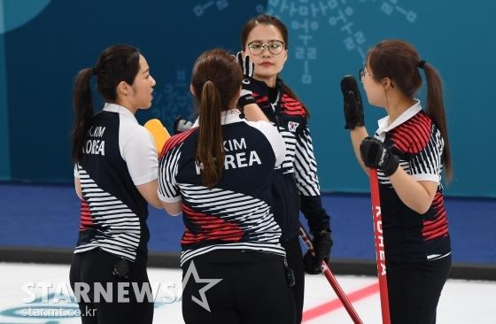 '세계선수권' 女컬링, 후지사와 빠진 日에 4엔드까지 4-3 리드(1보)