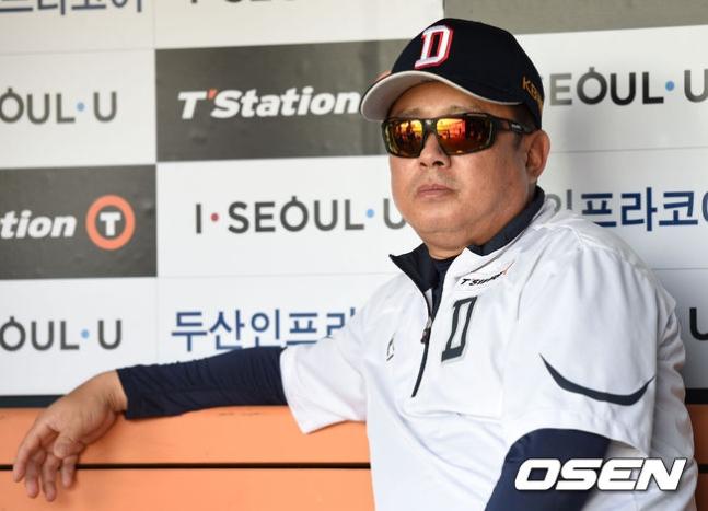 """김태형 감독 """"유희관 자기 모습 찾아가는 중 선수들 믿었다"""""""