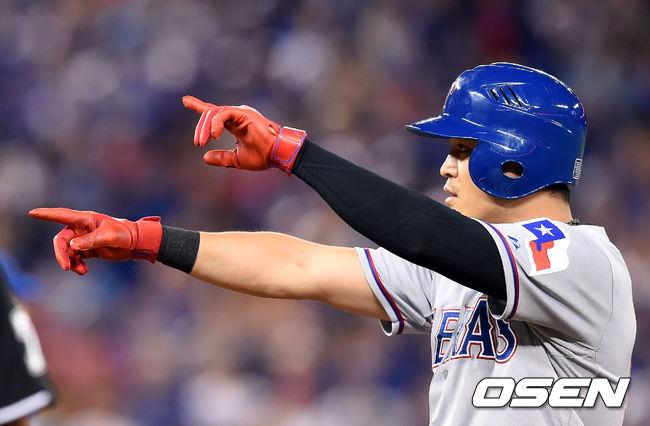 추신수, 양키스전 시즌 12호 스리런 홈런 꽝