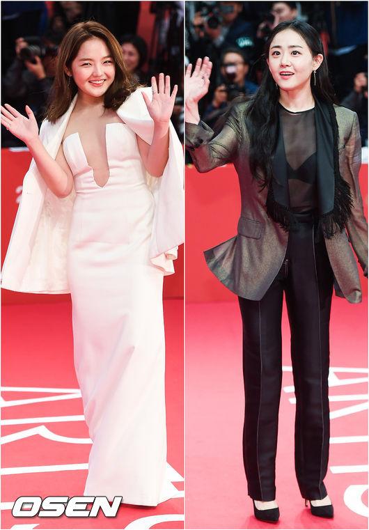 [오!쎈 Pic]BIFF 스타 서신애-문근영..`국민 여동생의 섹시한 변신`