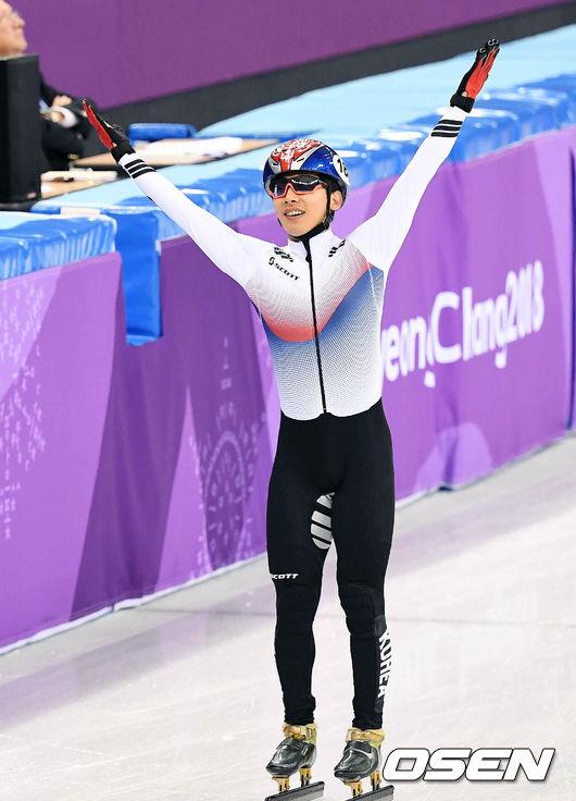 [사진]곽윤기,`5000m 계주 결승行 기분 최고`