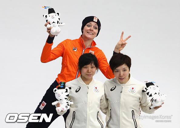 고다이라, 女 1000m 金 획득 실패... 네덜란드 모르스 1위