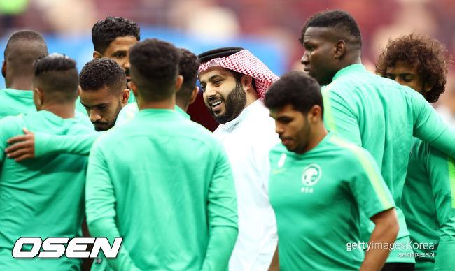 2018 러시아 월드컵 개막전 러시아-사우디 '동상이몽'